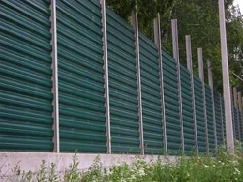 Забор шумозащитный своими руками 93